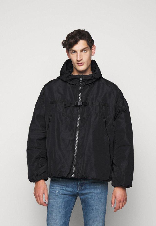GIUBBOTTO TESSUTO - Light jacket - nero