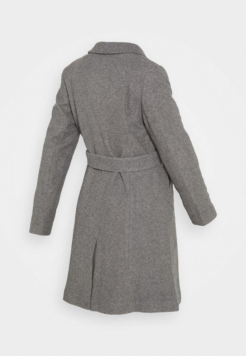 New Look Maternity JORDAN BELTED JACKET - Wollmantel/klassischer Mantel - grey/grau tvJ7kg