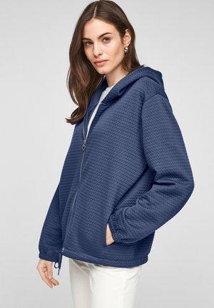 Sweater met rits - faded blue