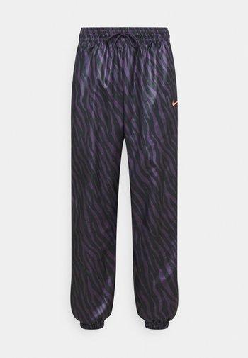 Pantalones deportivos - dark raisin/bright mango