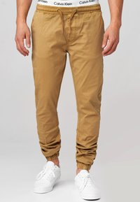 INDICODE JEANS - FIELDS - Trousers - amber - 0