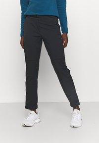 Salomon - OUTRACK PANTS  - Pantaloni - black - 0