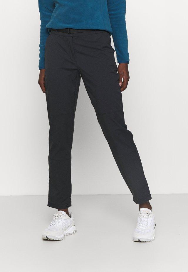 OUTRACK PANTS  - Kalhoty - black