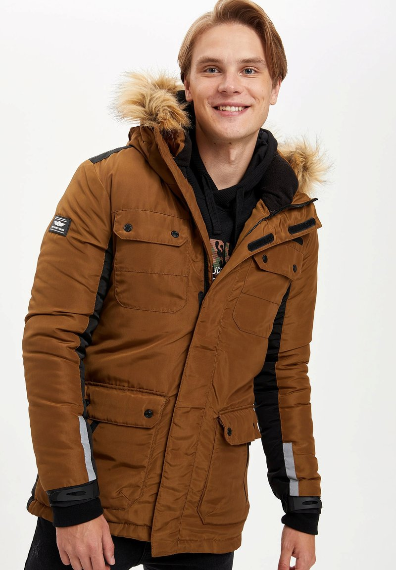 DeFacto - Vinterkappa /-rock - brown