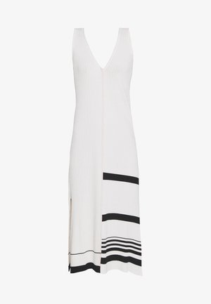 KNIT DRESS SLEEVLESS - Gebreide jurk - beige