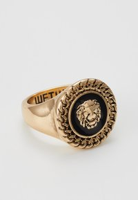 Wild For The Weekend - CHAIN AND LION HEAD - Ring - gold-coloured - 2