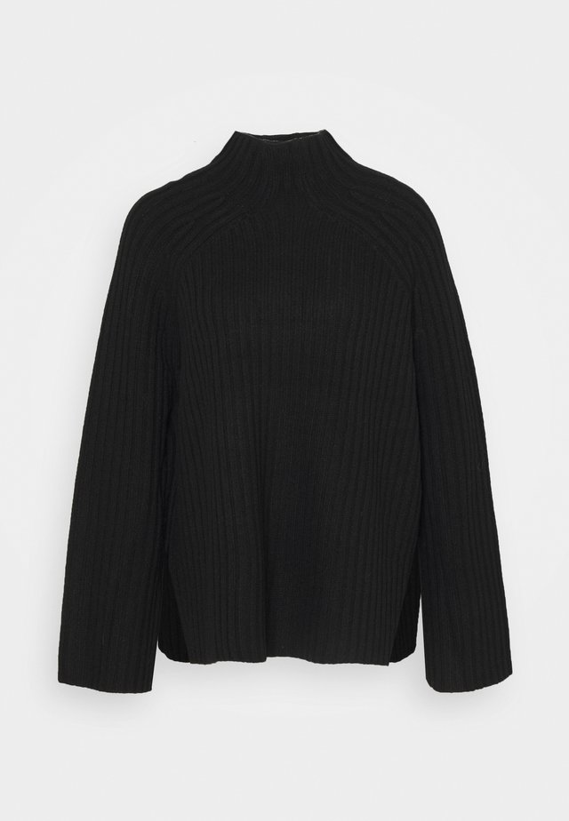 PEACH - Strickpullover - black