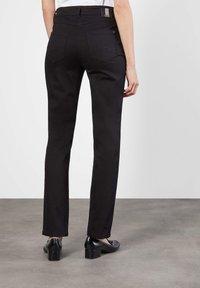 MAC Jeans - MELANIE - Straight leg jeans - schwarz - 1