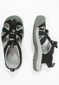 Keen - VENICE H2 - Outdoorsandalen - black/neutral grey - 1