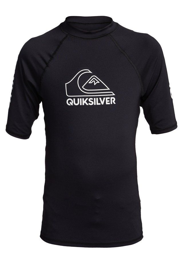 QUIKSILVER™ ON TOUR - KURZÄRMLIGER RASHGUARD MIT UPF 50 FÜR JUNG - Sportshirt - black