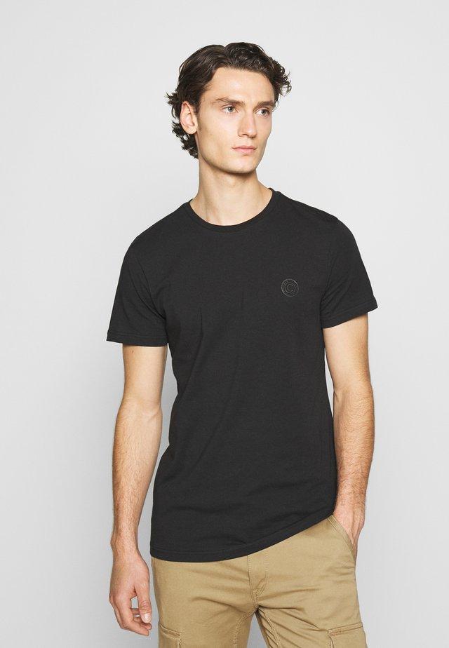 FULTON BLACK - T-shirts - black