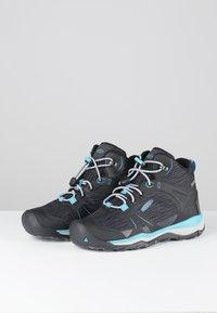 Keen - TERRADORA II MID WP - Hiking shoes - magnet/bluebird - 2