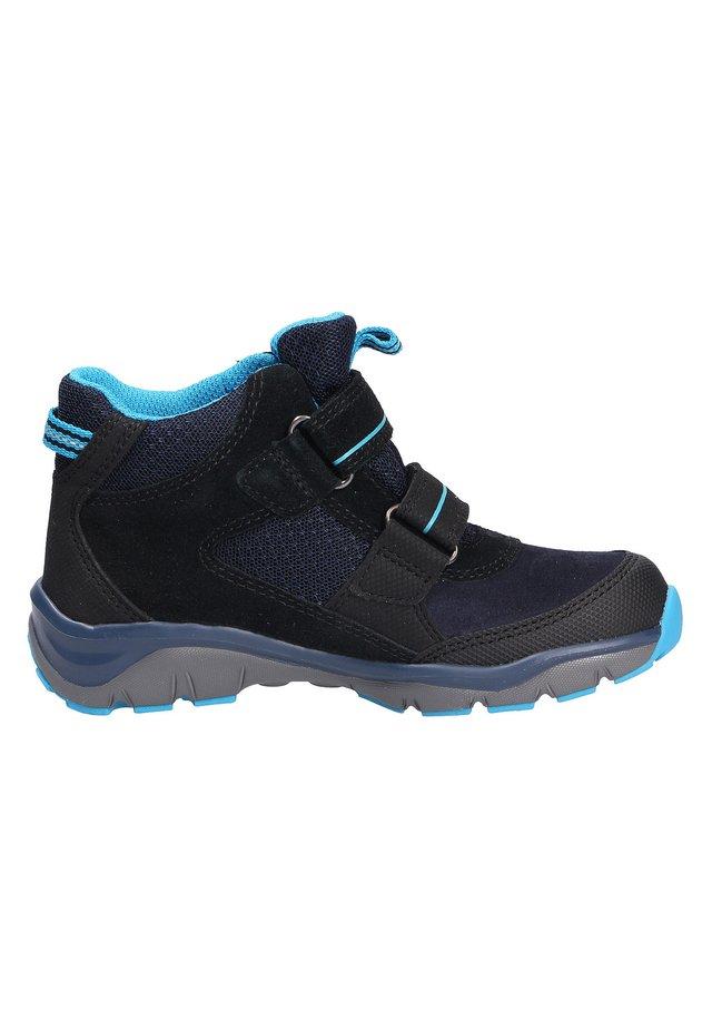 Touch-strap shoes - schwarzblau (0010)