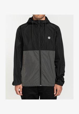 Waterproof jacket - asphalt