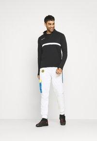 Nike Performance - INTER MAILAND PANT  - Klubbkläder - white/tour yellow/black/blue spark - 1