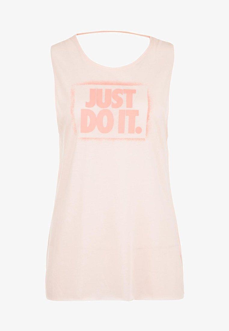 Nike Performance - DRY MODERN MUSCLE GRX TRAININGSTANK  - Sports shirt - echo pink/pink quartz