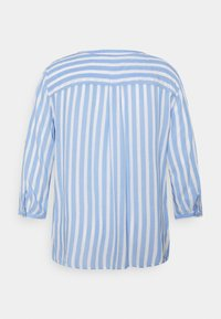 MY TRUE ME TOM TAILOR - BLOUSE STRIPED - Long sleeved top - blue/white - 1