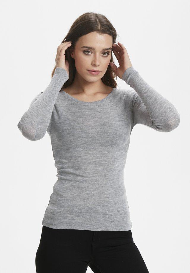 WILMAGZ  - Long sleeved top - grey melange