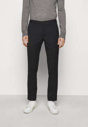 GRANT STRETCH PANTS - Stoffhose - black