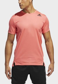 adidas Performance - HEAT.RDY TRAINING T-SHIRT - Camiseta básica - red - 4