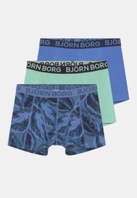 Björn Borg - LEAFY SAMMY 3 PACK - Pants - federal blue - 0