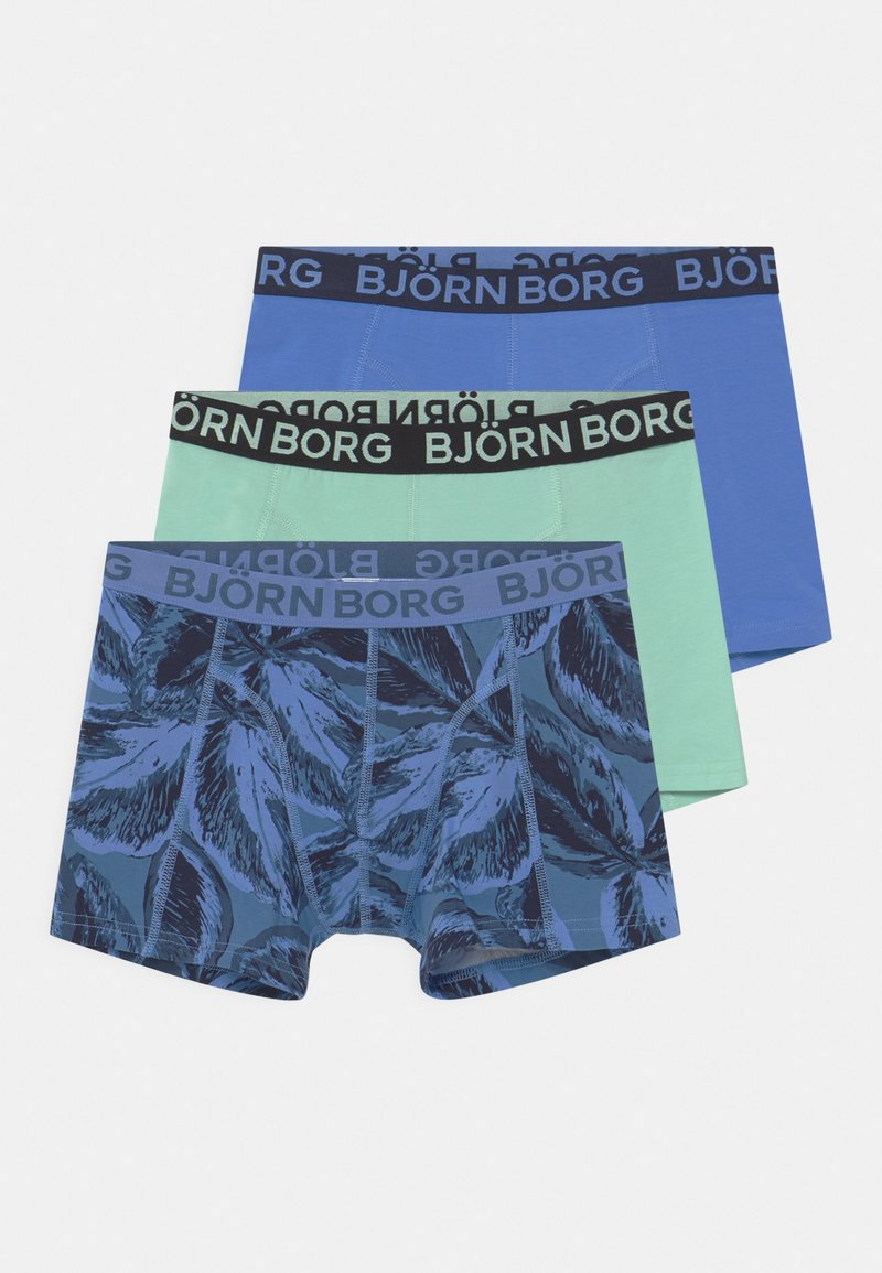 Björn Borg - LEAFY SAMMY 3 PACK - Pants - federal blue