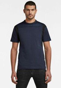 G-Star - Print T-shirt - sartho blue - 0