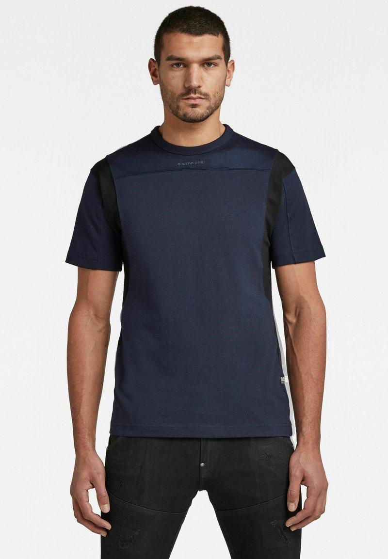 G-Star - Print T-shirt - sartho blue
