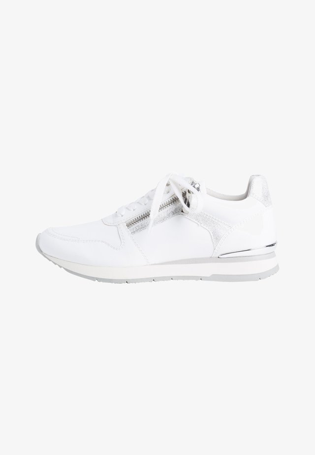 Sneakers laag - white patent