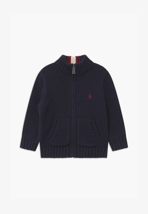 MOCK - Cardigan - navy