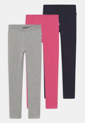 BASICS - Leggings - Trousers - pink/nachtblau/nebel