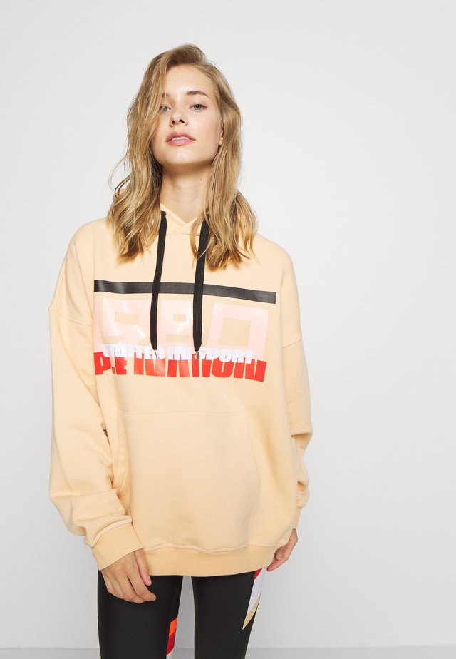 REPLAY HOODIE - Sweat à capuche - caramel cream