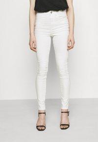 Vila - VISKINNIE ROSIE  - Jeans Skinny Fit - cloud dancer - 0