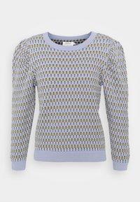 ONLY - ONLHONEY STRIPE - Jumper - cashmere blue/pumice stone - 0