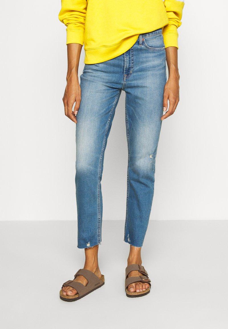 GAP - CIGARETTE KADUNA - Jeans straight leg - dark-blue denim