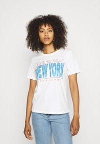 Gina Tricot - IDA TEE - Camiseta estampada - offwhite - 0