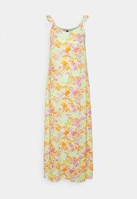 Pieces - PCTINA STRAP LONG MIDI DRESS - Maxi dress - jade lime - 0
