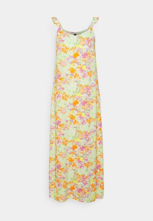 PCTINA STRAP LONG MIDI DRESS - Maxi dress - jade lime