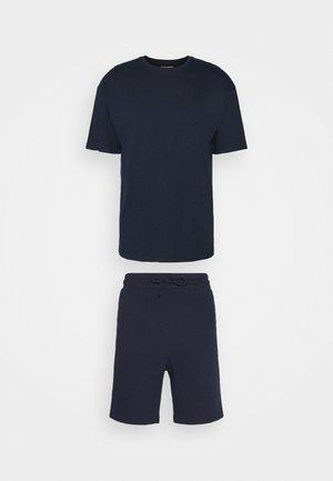 JORBRINK TEE CREW NECK SET - Basic T-shirt - navy blazer