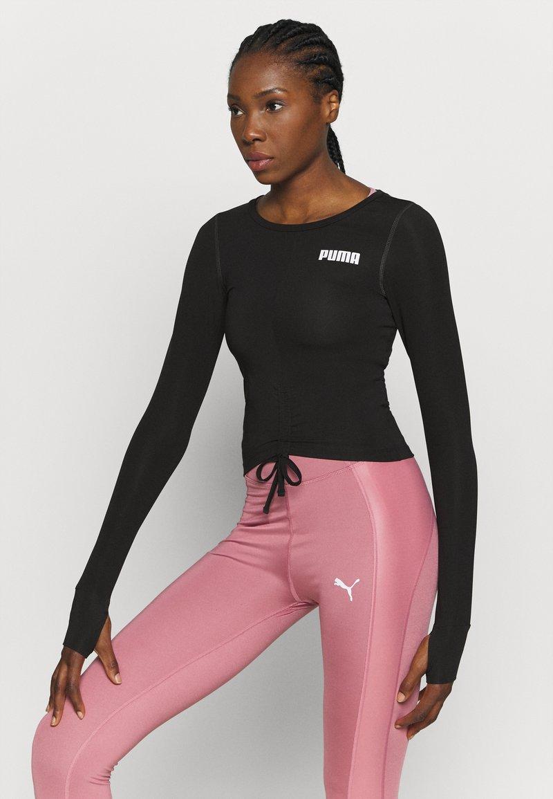 Puma - PAMELA REIF X PUMA COLLECTION RUSHING - Camiseta de deporte - puma black