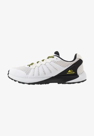 COLUMBIA MONTRAIL F.K.T. - Trail running shoes - white/black