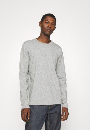 PRINCIPLE BASE TEE - T-shirt à manches longues - mottled grey