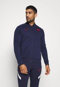 Nike Performance - FRANKREICH FFF - Klubové oblečení - blackened blue/university red - 0