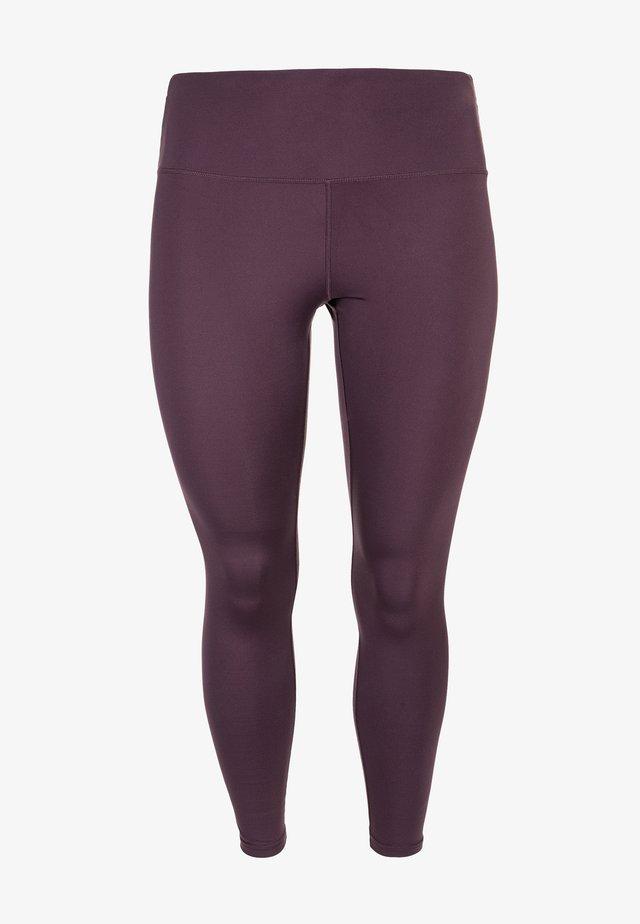 Leggings - Trousers -  purple grape