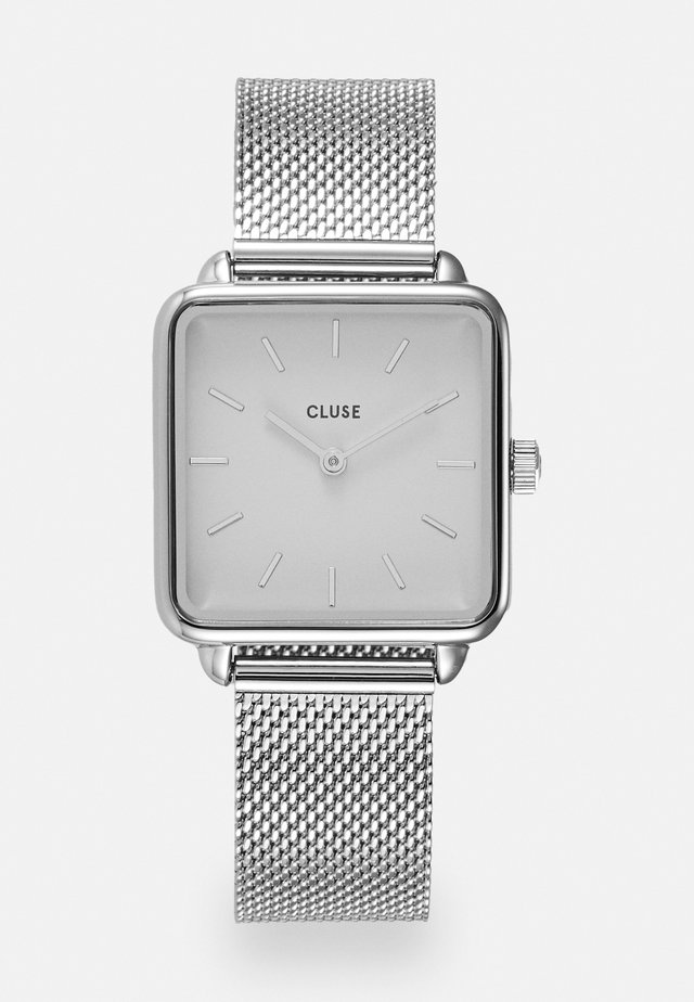LA TETRAGONE - Watch - silver-coloured/white