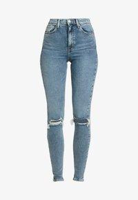 Topshop Tall - JAMIE AUSTIN - Jeans Skinny Fit - grrencast - 4