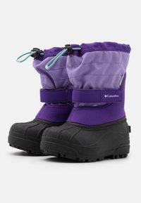 Columbia - CHILDRENS POWDERBUGPLUS II UNISEX - Winter boots - emperor/paisley purple - 1