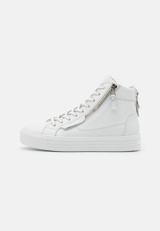 UP - Sneakers high - bianco