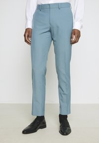 Isaac Dewhirst - PLAIN SUIT SET - Completo - turquoise - 4