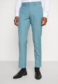 Isaac Dewhirst - PLAIN SUIT SET - Suit - turquoise - 4
